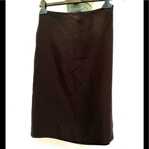 90's Vintage Prada silk skirt